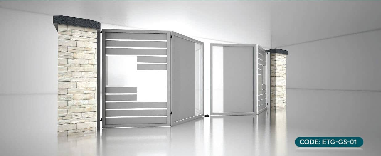Trackless Folding Gate Emperor Secure Management Sdn Bhd